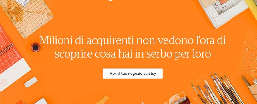 etsy italia come vendere