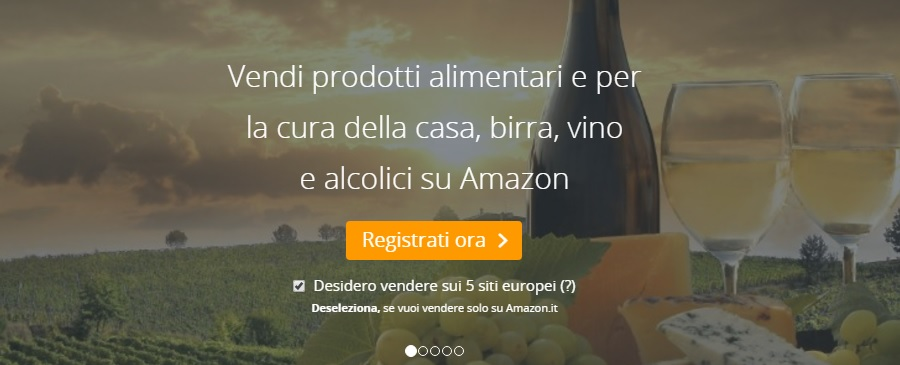 vendere alimentari su amazon
