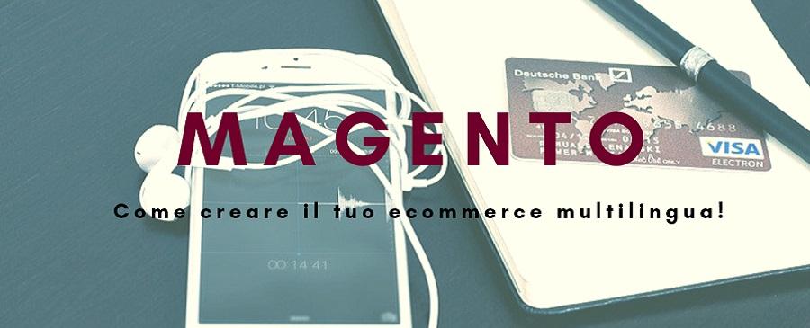 Ecommerce multilingua Magento
