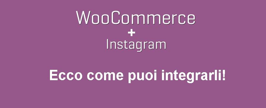 Woocommerce e Instagram