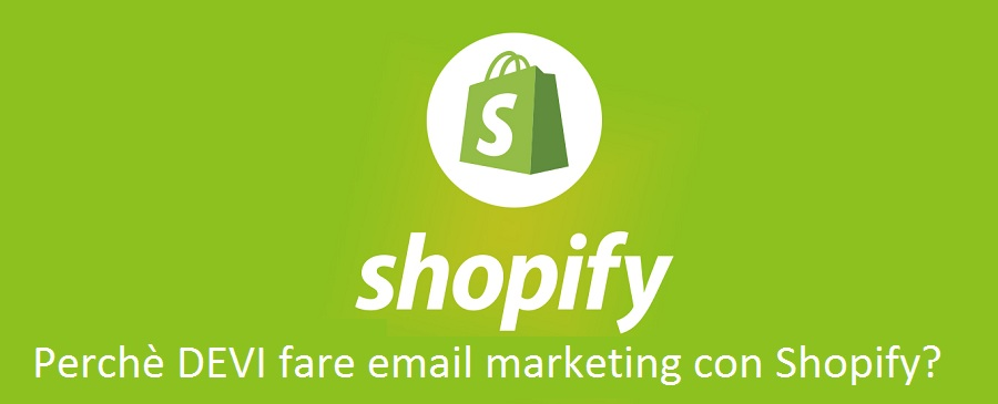 Email marketing con Shopify